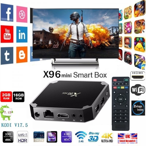 Смарт ТВ бокс - Smart TV BOX X96 mini